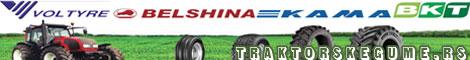 Poljoprivredne masine i gume